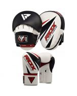 RDX T10 Focus Pads & Boxing Gloves