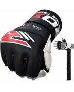 RDX T1 Кожаные MMA тренировочные перчатки