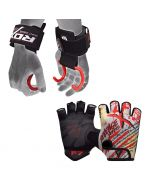 RDX F7 Gym Gloves & W15 Hook Straps