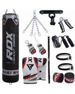 RDX X1B 13pc Punch Bag & Boxing Set