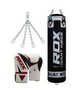 RDX X1 Punch Bag & Boxing Gloves