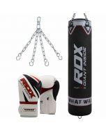RDX X1 Punch Bag & Boxing Gloves