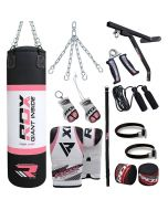 RDX X2 17pc Punch Bag With Gloves