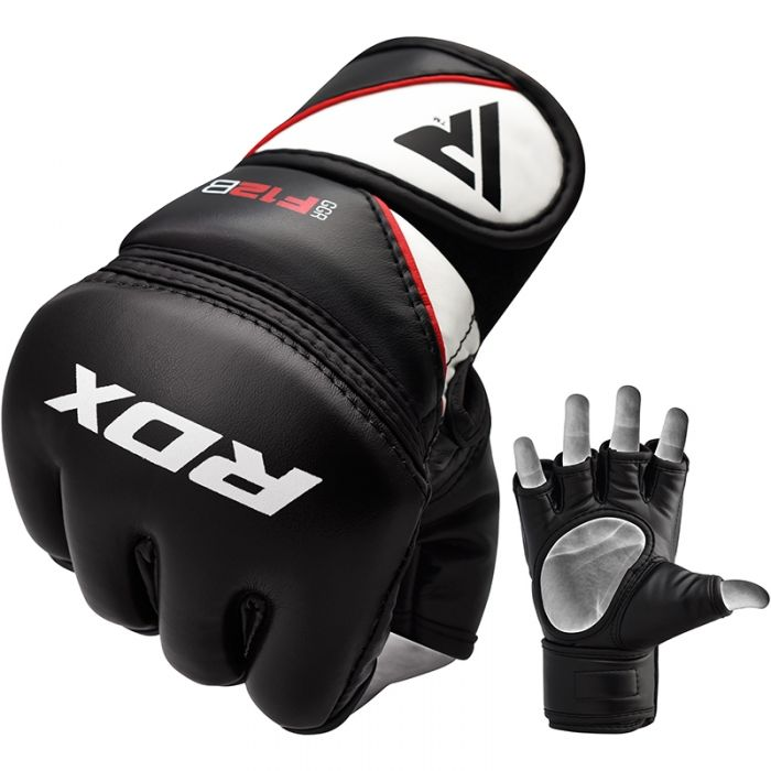 RDX MMA Gloves Punching Martial Arts Training Grappling Fight Muay Thai Sparring