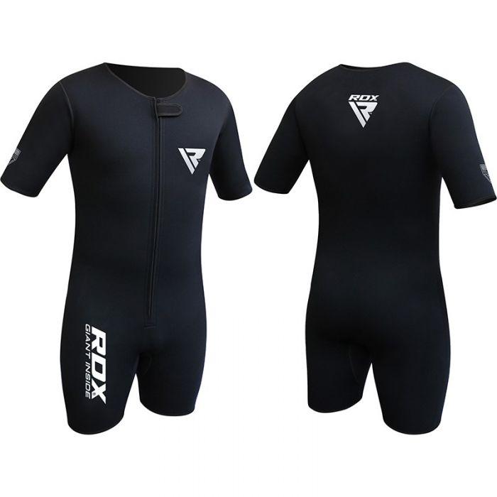 RDX MMA Rash Guard Compression Pants Weight Loss Running Sweat Shirt Gym Wear
