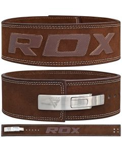 RDX 10mm Leather Powerlifting Belt