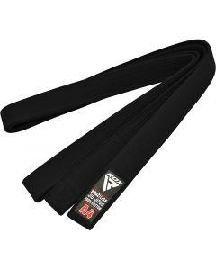 RDX 1B A0 Black Cotton Jiu Jitsu BJJ Belt