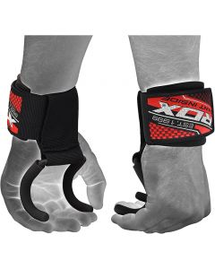 RDX W8 Power Lifting Straps with Hook