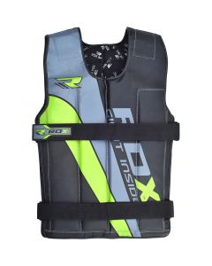 RDX 1G 8-14Kg Green Cordura Weighted Vest