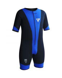 RDX 1U Medium Blue Neoprene Ultra Flex Compression Shirt