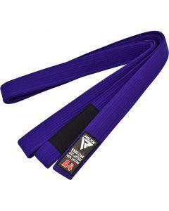 RDX 1U A0 Blue Cotton  Jiu Jitsu BJJ Belt