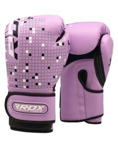 RDX 3B Dino детские боксерские Перчатки 4 oz Purple