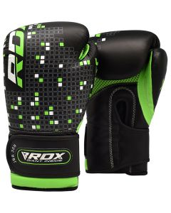 RDX 3B Dino Boxing Gloves Black 4oz
