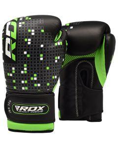RDX 3B Dino детские боксерские Перчатки 4 oz Black