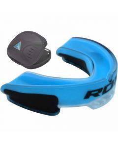 RDX 3U Adult Blue Rubber Gum Shield Mouth Guard