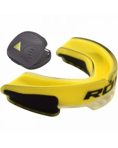 RDX Gel Gum Shield Yellow Mouth Guard Adult
