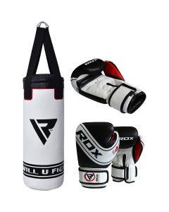 RDX 4W Robo Punch Bag Set Filled