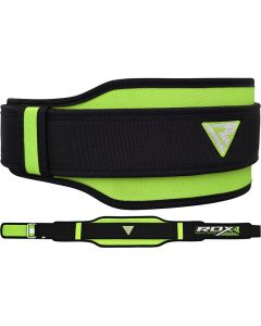 RDX 8D Weightlifting Belt Green Extra Small