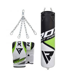RDX F11 Punch Bag & Bag Gloves