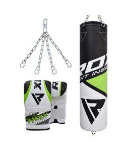 RDX F11 Punch Bag & Bag Gloves