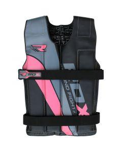 RDX R1 Adjustable Pink Weighted Vest
