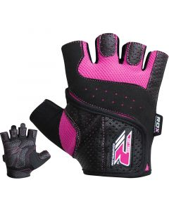 RDX S5 Small Pink Lycra Weight Lifting Gloves