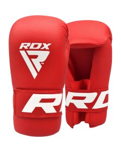 RDX X2 Taekwondo Gloves Red Small
