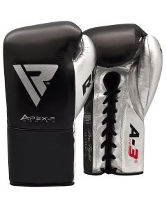 RDX A3 Professional Boxing Gloves Black 8oz