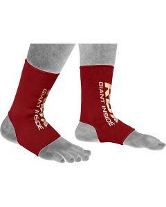 RDX AR Small Red Nylon Anklet Sleeve Socks