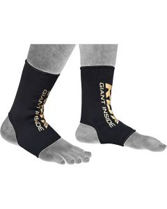 RDX AB Small Black Hosiery Anklet Sleeve Socks