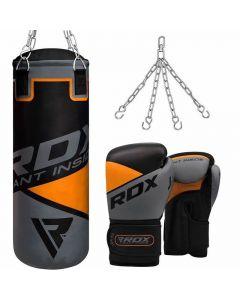 Junior Boxing Set Kids Punch Bag Ball MITTS Gloves Kit Children Free Standing