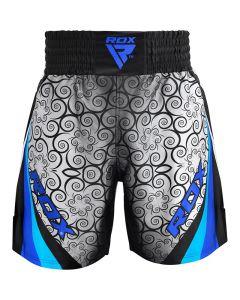 RDX BSS Training Boxing Shorts Blue Small