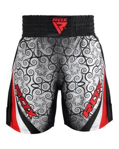 RDX BSS Training Boxing Shorts Red Small