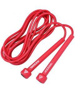 RDX C10 Red Plastic Skipping Rope