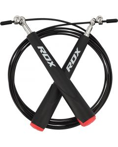 RDX C6 Black Adjustable Skipping Rope