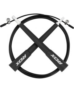 RDX C8 Black Skipping Ropes