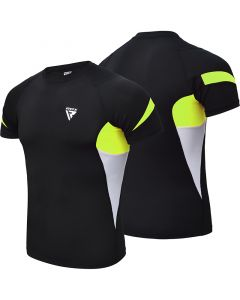 RDX S3 Extra Small Green Base Layer Compression Rash Guard