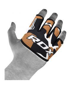 RDX 4T Tan Camo Weight Lifting Grips