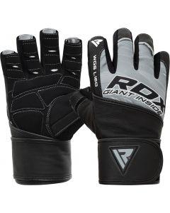 RDX L16 Small Grey Lycra Gym Gloves