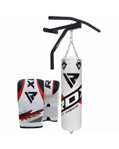 RDX CBR Punch Bag With Pull Up Bar