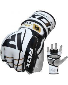 RDX F3 Gel Leder MMA Handschuhe Small