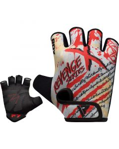 RDX F7 RevengeX Small Red Lycra Gym Gloves