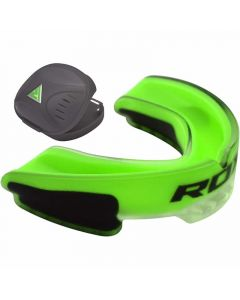 RDX 3GN Adult Green Rubber Gum Shield Mouth Guard