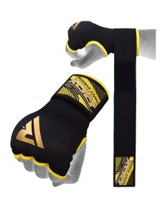 RDX 75cm Gel Inner Gloves with Wrist Strap Small Black