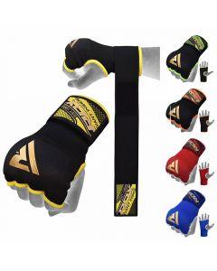 XL RDX HYP-ISB-XL Inner Gloves Wrist Strap Training Hand wraps black