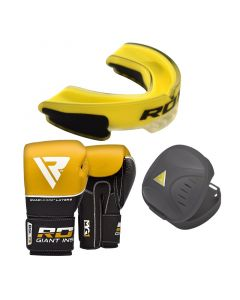 RDX T9 Boxing Gloves With Mouth Guard