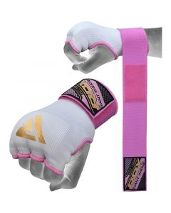 RDX Pink Women Inner Gloves with Wrist Strap