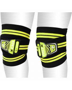 RDX K3 Zipra Knee Wraps