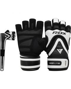 RDX L11 Small Black Weight Lifting Gloves
