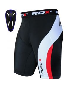 RDX MB Groin Guard & Thermal Compression Shorts Blue Small